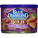 Blue Diamond Almonds, Bold Sweet Thai Chili, 6 Ounce (Pack of 12)