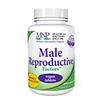Michael's Naturopathic Programs Male Reproductive Factors - 60 Vegan Tablets - Promotes Sperm Production, Supports Healthy Contraception - Vegetarian, Kosher - 20 Servings