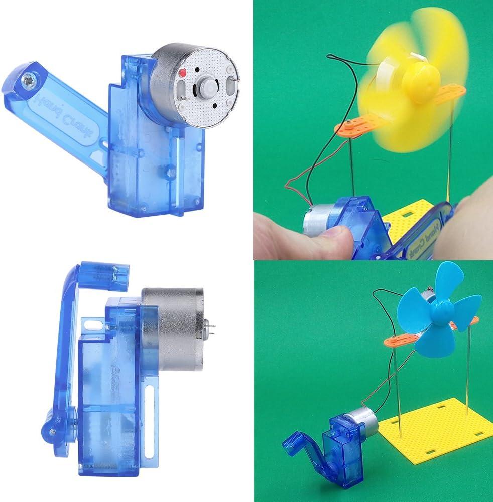 BYFRI Handkurbel Elektrizit/ät Generator Mechanische Notstromversorgung Mechanische Dynamo Driven