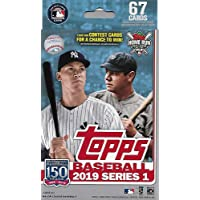 Hanger Box 2019 Topps Baseball Factory Sealed Series One with 67 Cards per Box Possible… photo