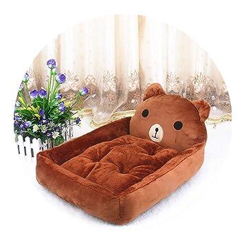 Amazon.com: Lindos felpudos para cama de perro, con forma de ...
