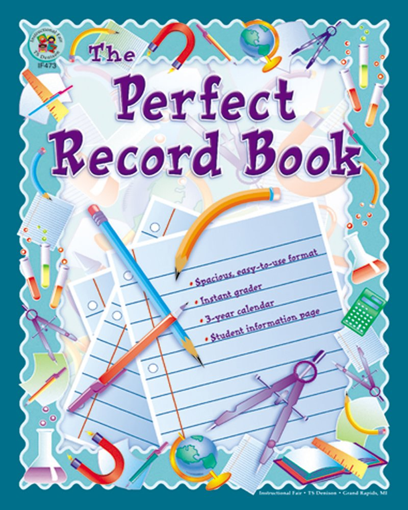 Carson Dellosa Instructional Fair The Perfect Record Book Record/Plan Book (074240028X) Ruth Dekorne Evaluation & Assessment Christian Education - General Christian instruction