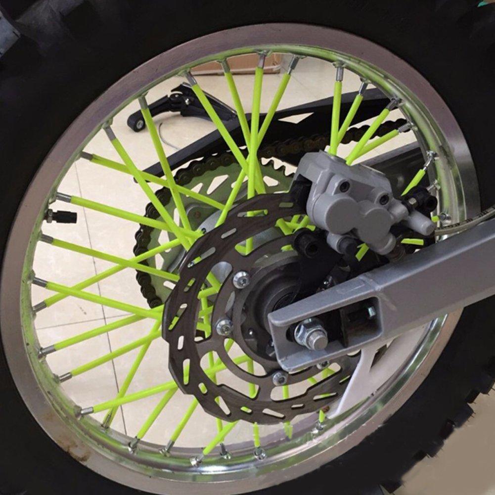 copriraggi per Motocicletta copriraggi Decorativi Manicotto Universale per Moto Fuoristrada Yiwa