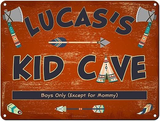 Amazon.com: Kid cueva Cartel ~ decoración de la pared ...