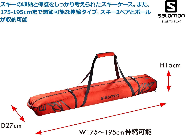 SALOMON Extend 2pairs 175+20 Skib Sac de ski Mixte