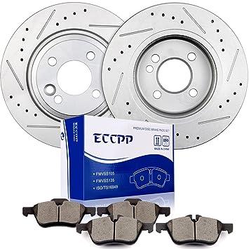 Amazon.com: eccpp Front 276 mm discos rotores de freno y ...