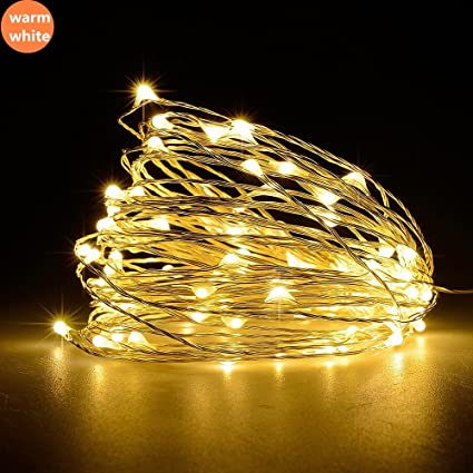led solar string lamp fairy light christmas lights 10m 100 led warm white