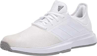 Amazon Com Adidas Men S Gamecourt Wide Tennis Shoe Tennis Racquet Sports