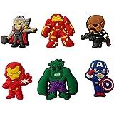 Avengers Shoe Charms 6 Pcs Set #4