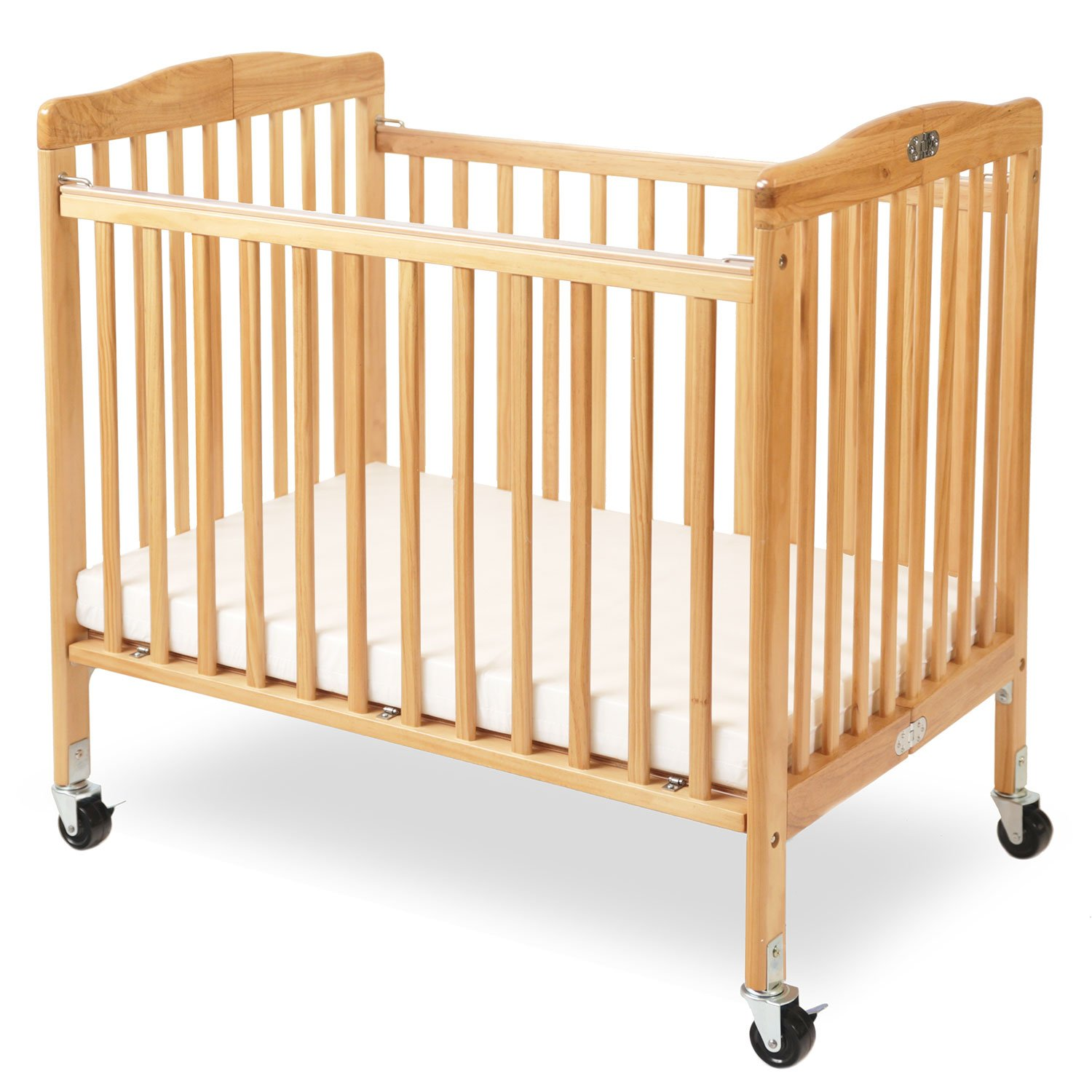 LA Baby The Little Wood Crib, Natural by LA Baby