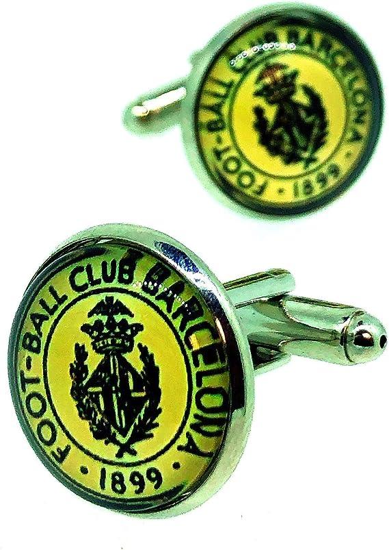 Gemelos para Camisa Escudo FC Barcelona 1899: Amazon.es: Ropa y accesorios