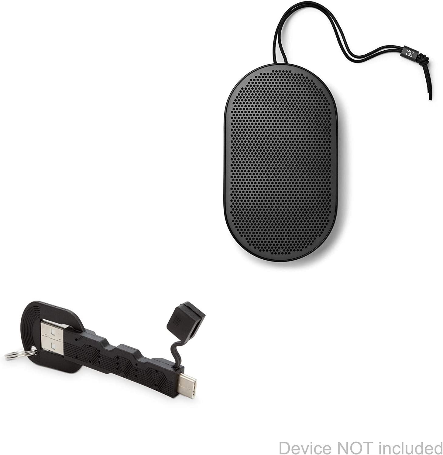 More Mouse Zip hdmi Silver Use with Devices Like Keyboard PRO OTG Adapter Works with Bang /& OLUFSEN Active Beoplay P6 for OTG and USB Type-C Braided Cable Gamepad