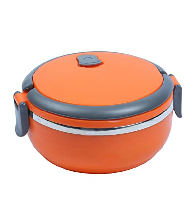 NOVICZ Lunch Box Picnic Food Container Tiffin Hot Box Vaccum Insulated With  Handle