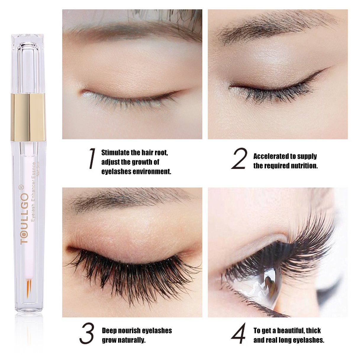 Amazon Eyelash Serum Eyelash Eyebrow Growth Serum Grows