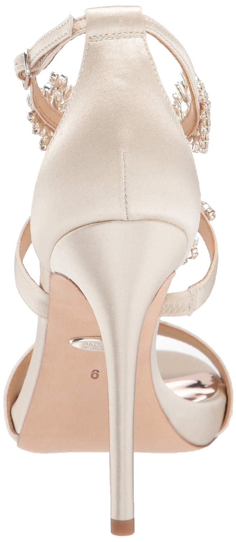 Badgley Mischka Womens Leah Heeled Sandal