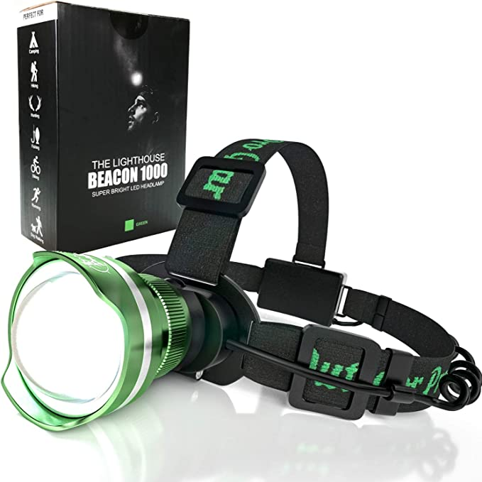 Details about  /350000 Lumens 3X LED Head Light USB Zoom Headlamp Lamps Fishing Lights Durable