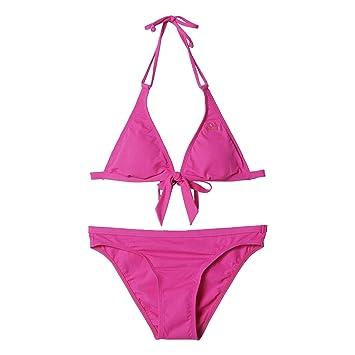 2c1428cb3a adidas Women s ESS 3S HN BIK J Swimwear - Pink Silver Rosimp Eqtros ...