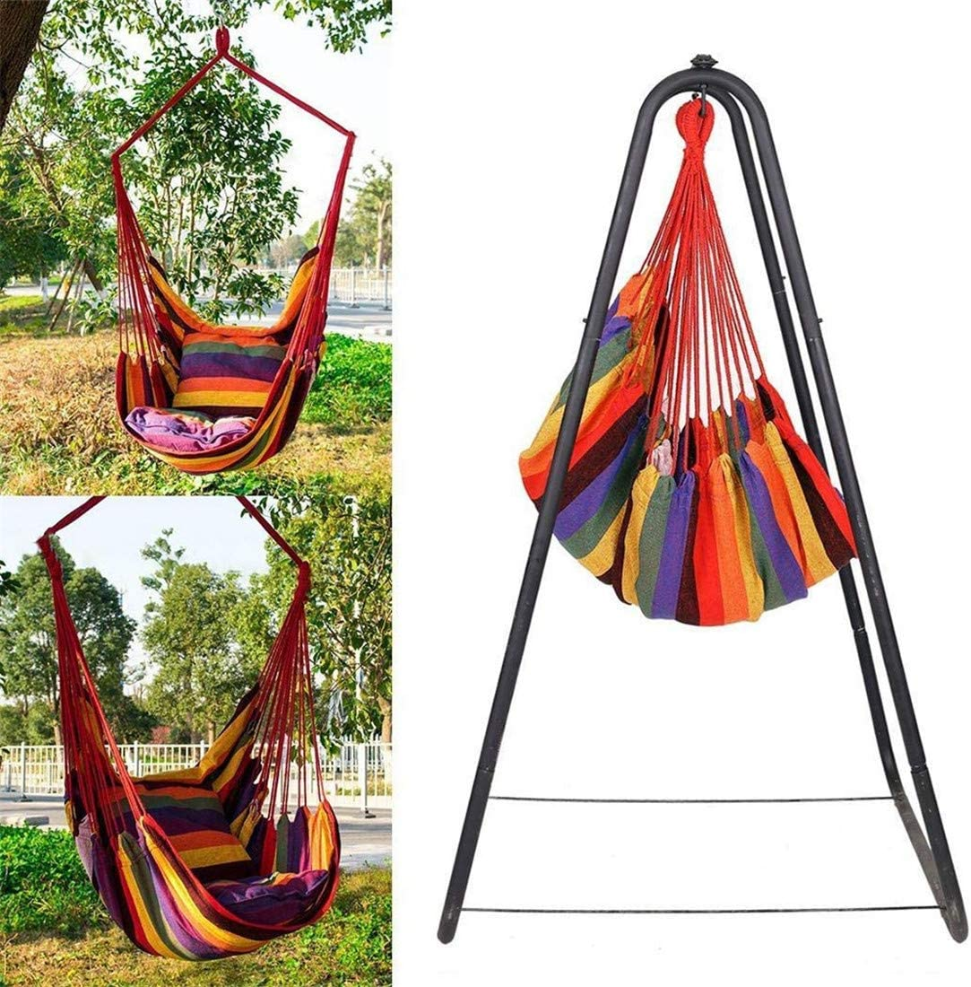 Freeby Portable Camping Hammocks Lightweight Folded Parachute Hammocks Outdoor Camping Tent Hanging Swing Chair