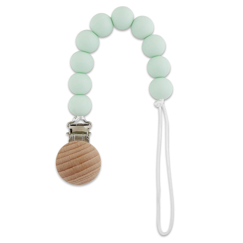 Handmade Natural Wood /& Silicone Teething Pendant /… Babe Basics Teething Pendant