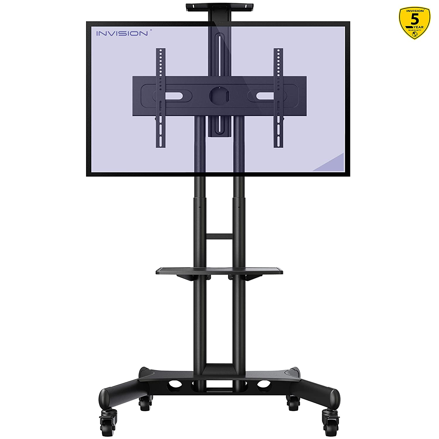 INVISION Mobile TV Cart LCD Stand