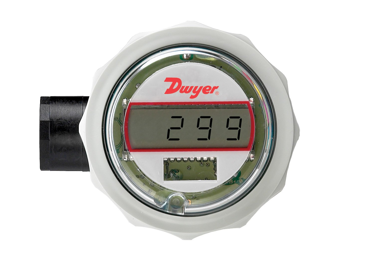 Dwyer Series BPI Battery Powered Temperature Indicator, 3-Wire Pt100/Ni120 Input