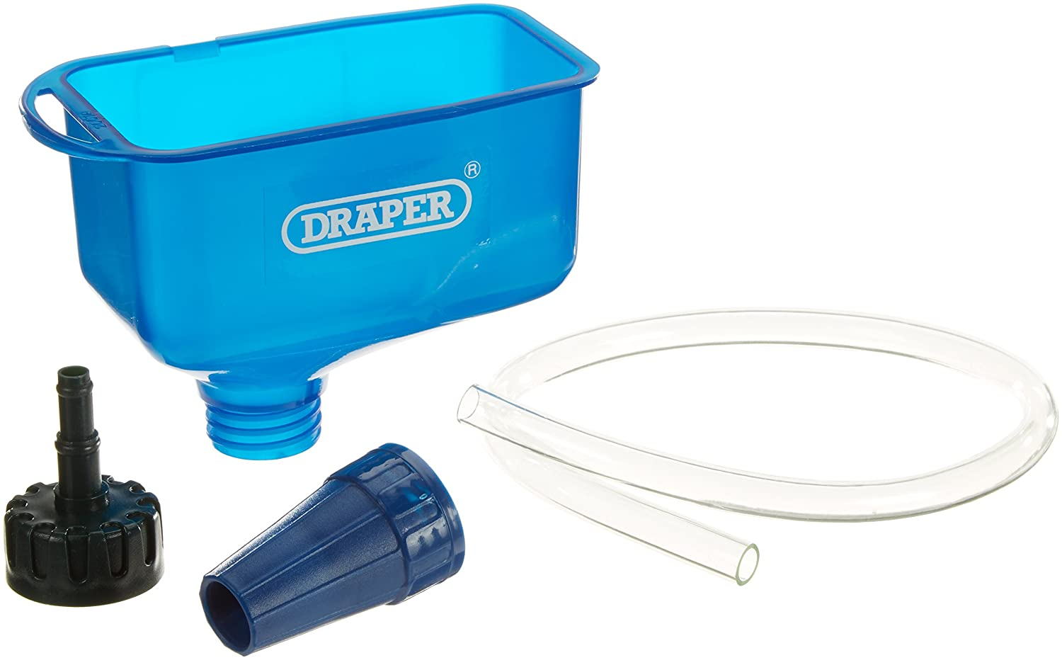 Draper 26327 Oil Funnel with Tube, Blue Draper  Tools Limited