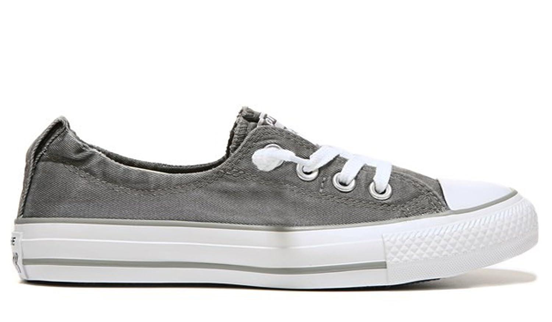 Converse Chuck Taylor Shoreline Slip Charcoal/White/Dolphin B077GHL9W3 7 B(M) US