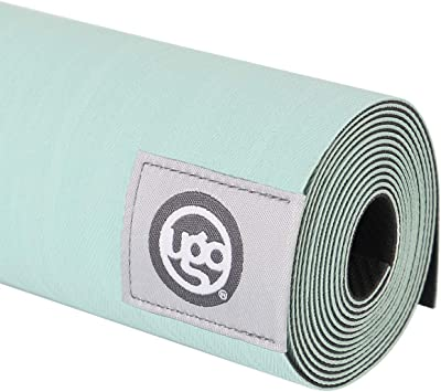 UGO Yoga Mat Pilates and Floor Exercises Fitness Eco Friendly and Natural Rubber Non-Slip Travel Mat(1.5MM)