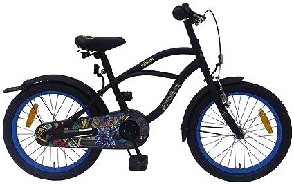 Bicicleta Infantil Niño Chico 18 Pulgadas Batman Freno Delantero ...