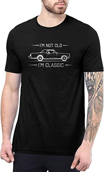 Vintage Tshirts for Men - 80s & 90s Classic Graphic Retro Shirt