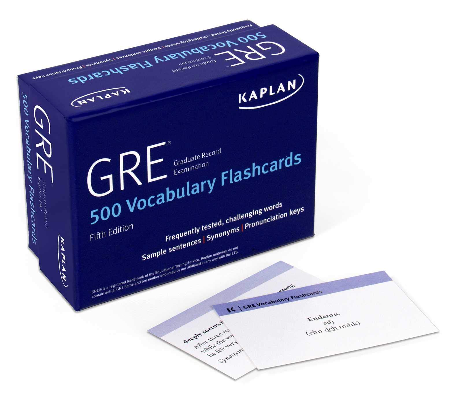 Image for GRE Vocabulary Flashcards