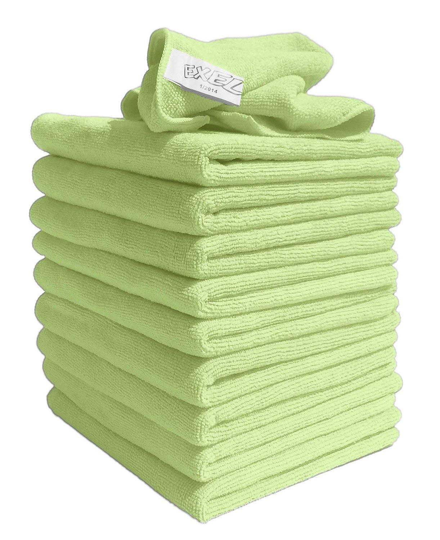 EXEL Supercloth Mikrofasertuch, mittelgroß, ideal für für für Zuhause, Auto oder Garten, grün, 2 Packs (20 Clothes) B07HTLSCZ3 Reinigungs- & Putztücher 19b9f8