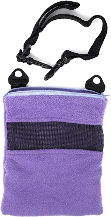 LAMBIE JAMMIE Purple Bonding Pouch for Sugar Gliders, Hedgehogs, Bunnies, Or Other Small Pets, Great for Bonding and Sleeping to Better Your Relationship with Your Pet