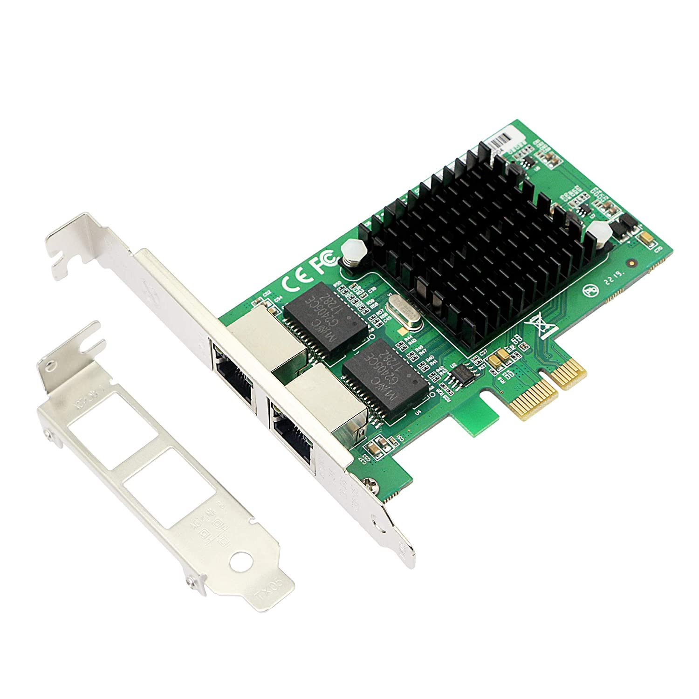 Amazon.com: CERRXIAN Dual Port Gigabit Ethernet PCI Express ...