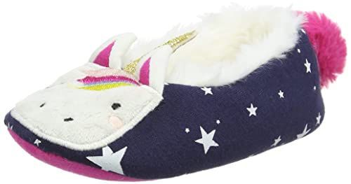 b2ada3c58bc Joules Junior Dreama Unicorn Slippers-Unicorn-XS