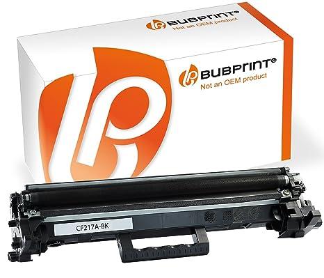 Bubprint Cartucho Compatible con HP cf217 a 17 a Laserjet Pro m102 ...