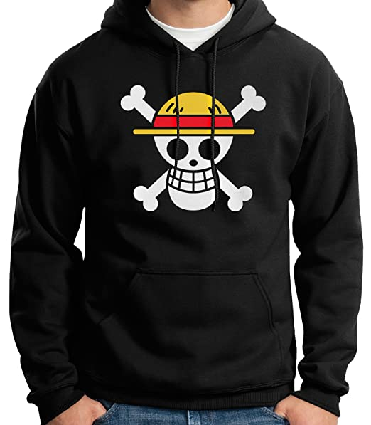 35mm - Sudadera con Capucha - One Piece - Hoodie: Amazon.es: Ropa y accesorios