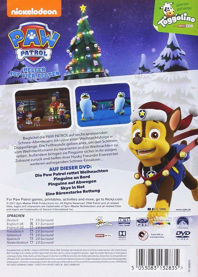 Paw Patrol - Die Paw Patrol rettet Weihnachten: Amazon.de: DVD & Blu-ray
