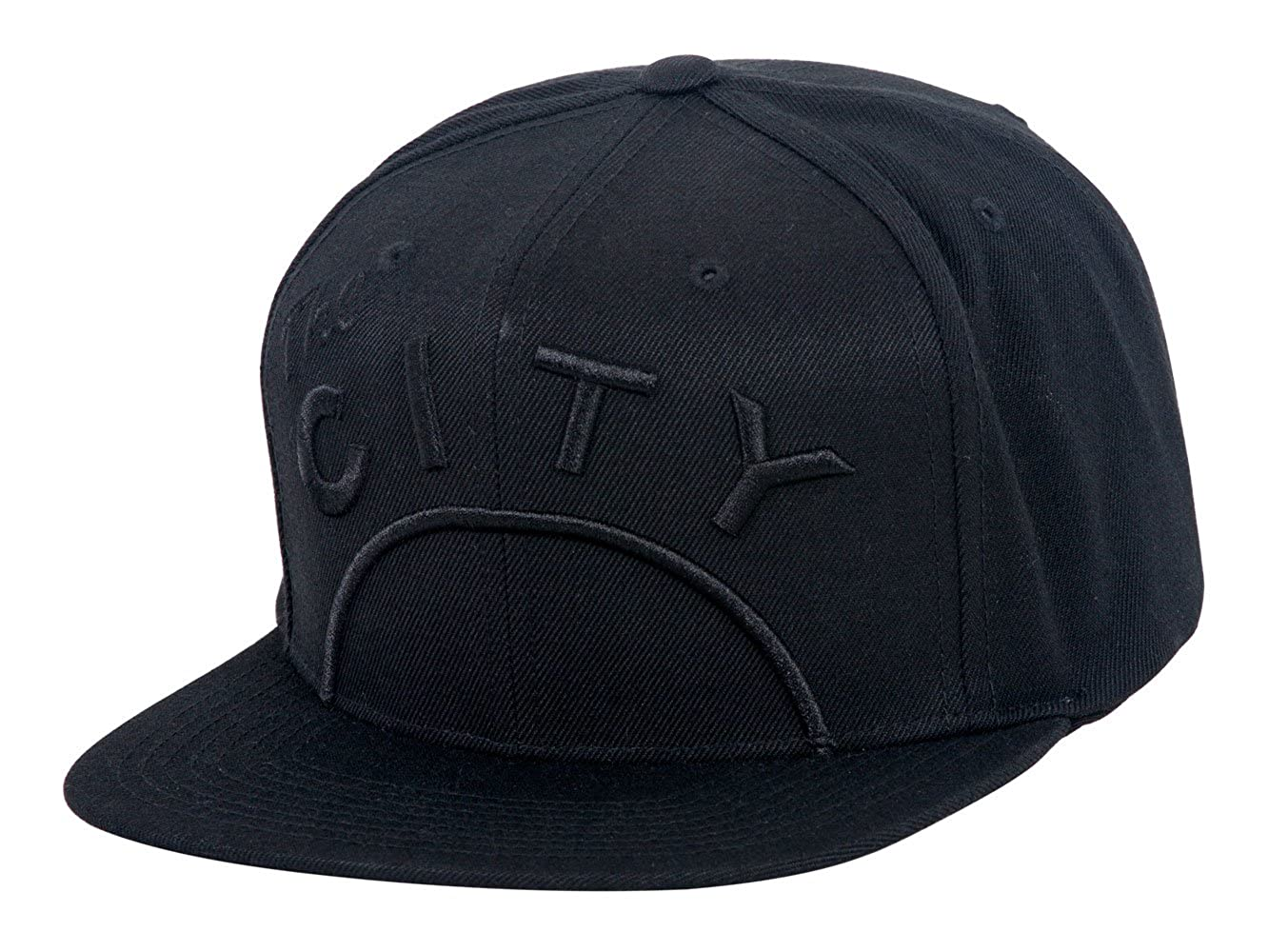 new product d3568 c8995 Mitchell   Ness Cropped XL Logo Snapback - Warriors The City - Black   Amazon.ca  Clothing   Accessories