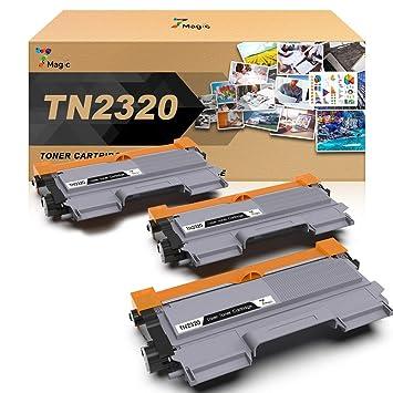 TN-2320, 7Magic TN-2320 Compatible con Brother TN-2320 Cartucho de ...