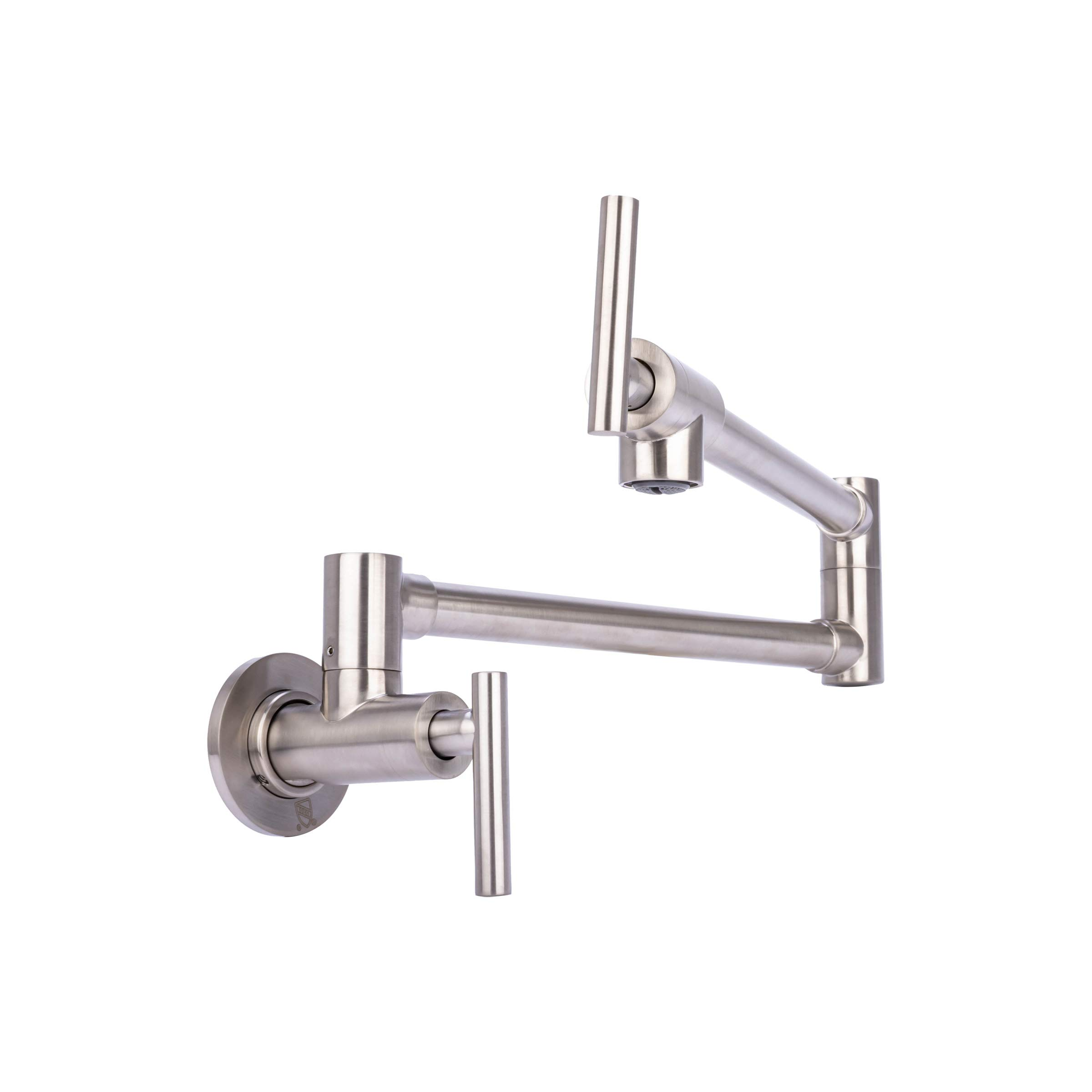 Brienza by Italia, K62202-BN, Contemporary Pot Filler Kitchen Faucet in Brushed Nickel by Brienza by Italia (Image #2)