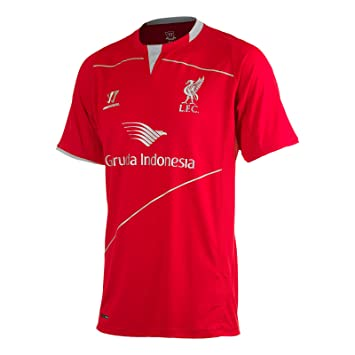 separation shoes e40e9 c87e6 Warrior Liverpool FC 2014/15 Football Training Shirt Black