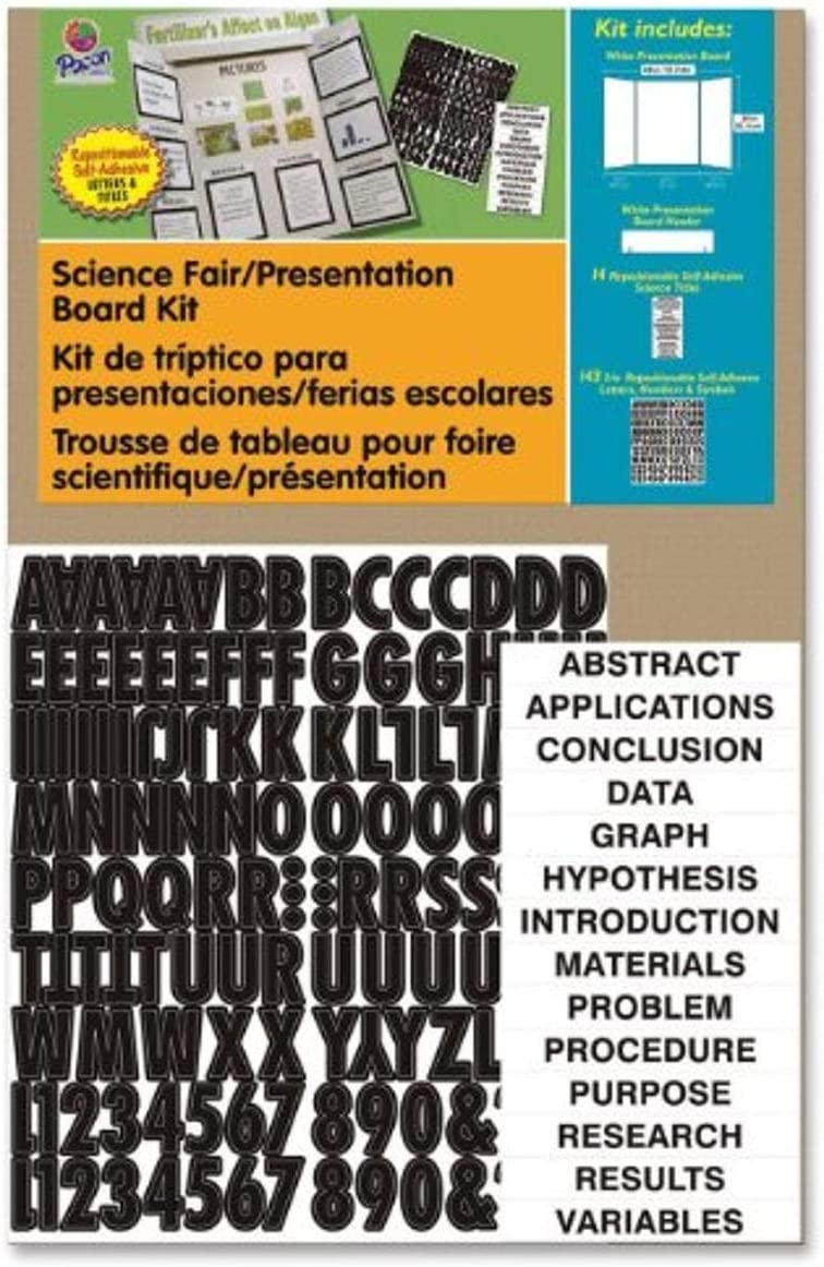 "Pacon Corrugated Presentation Board Kit, 48""X36"""