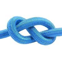 Elastisch touw rubberen koord 4mm zwart-wit-blauw-groen-geel-rode stropdas naar beneden