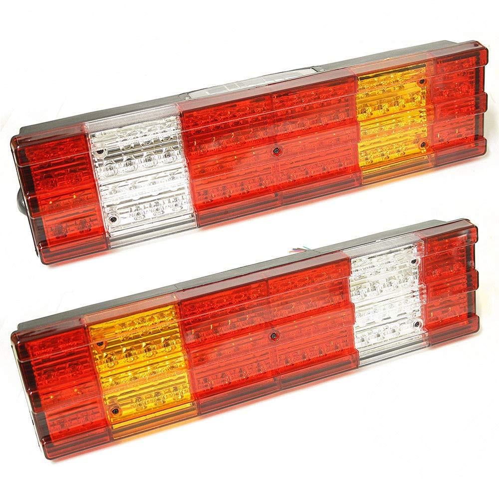 per camion 2 luci posteriori a LED da 24 V camion universali