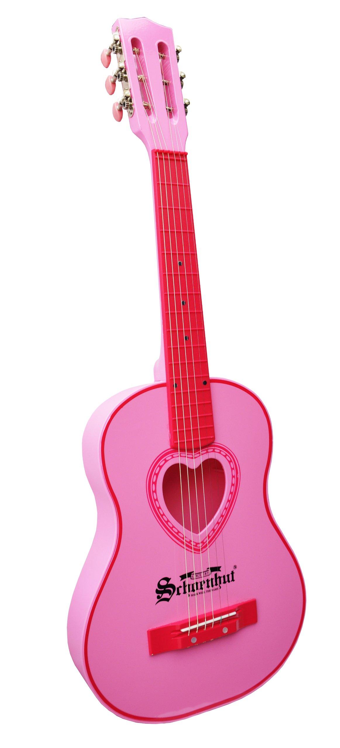 Schoenhut Acoustic Guitar (Pink) by Schoenhut