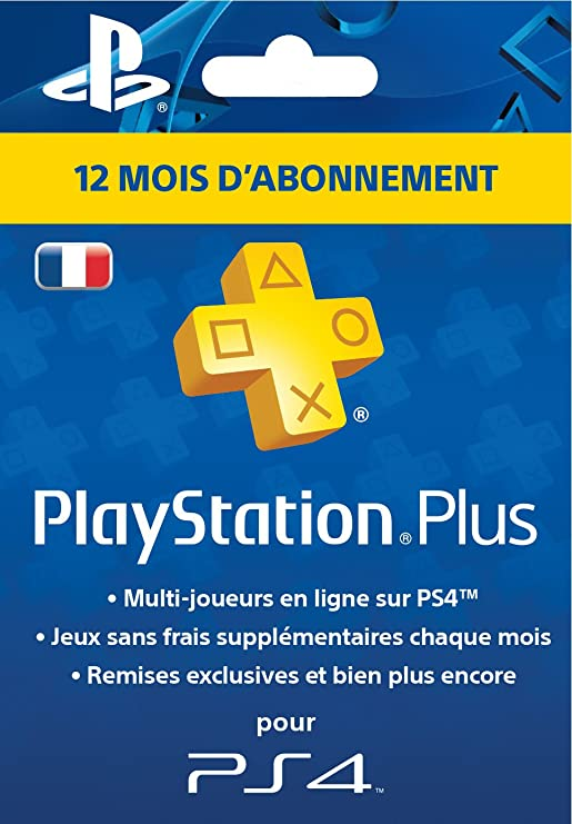 Playstation Plus Card Hang - Abonnement 12 Mois [Importación ...