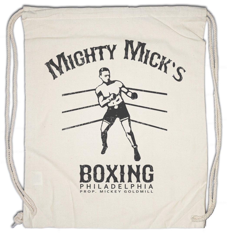 Mighty Mick's Boxing II Drawstring Bag Gym Sack Sylvester Tommy Gym Rocky Haven Adrian Robert Gunn Boxer Balboa Movie Studio Club Urban Backwoods