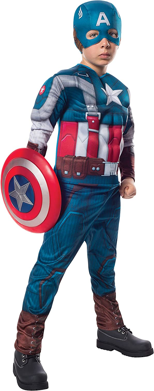 Disfraz de Capitán América Soldado de Invierno classic retro para ...
