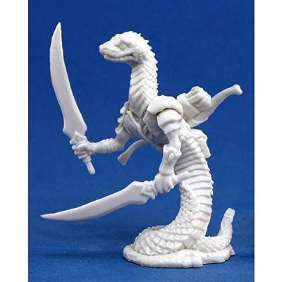 Reaper Miniatures 77153 Bones - Snakeman: Toys & Games
